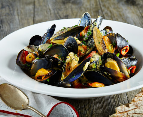 Thai Style Mussels